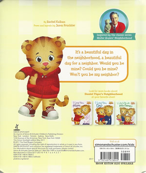 Won't You Be My Neighbor? (Book) - The Daniel Tiger's