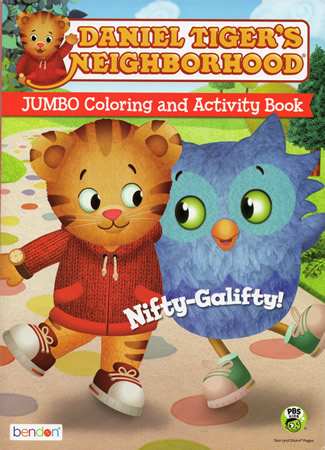 Jumbo Coloring and Activity Book (2015) - The Daniel Tiger\'s ...