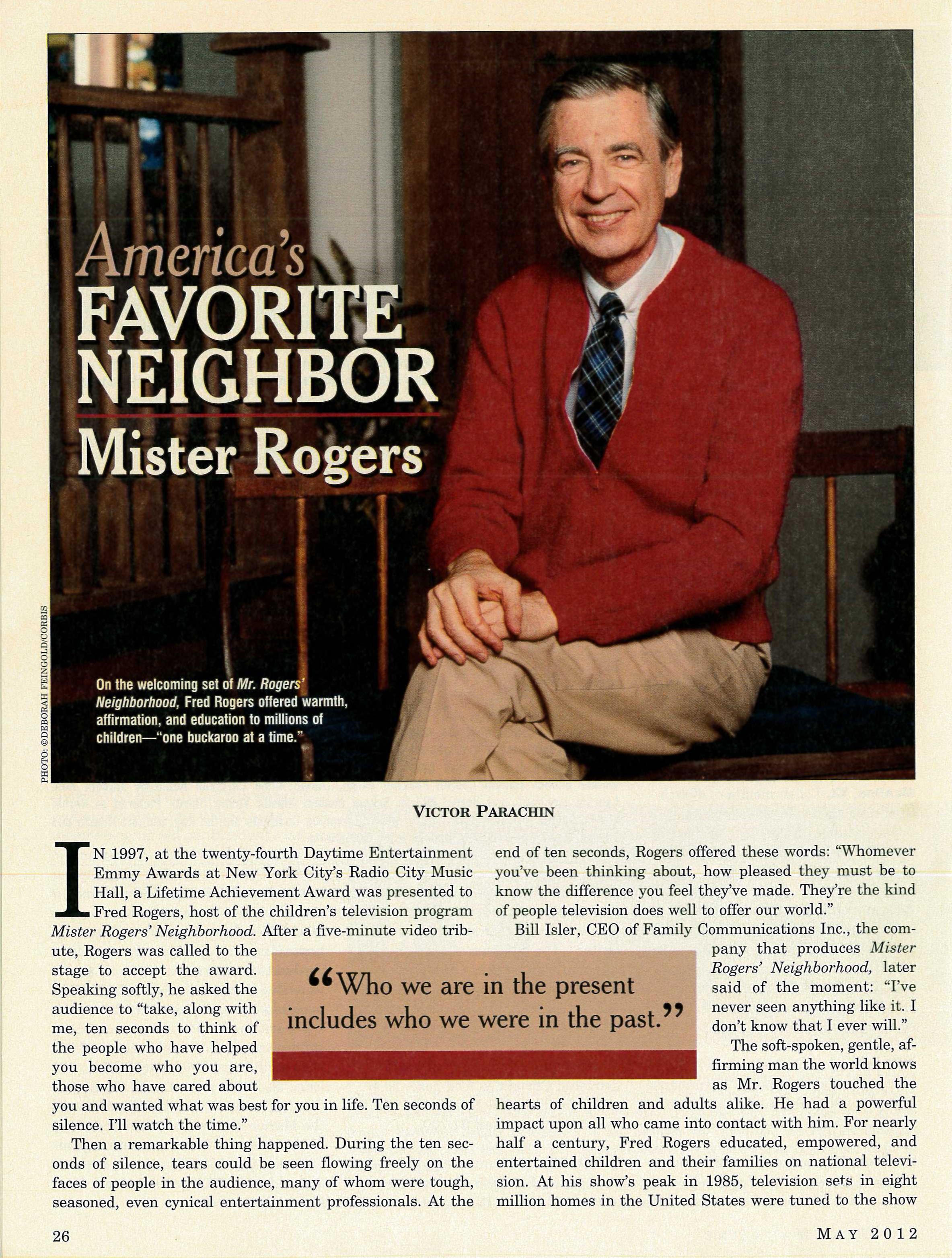 The Elks Magazine The Mister Rogers Neighborhood Archive